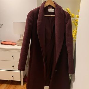 Oak + Fort Wool Coat size Small
